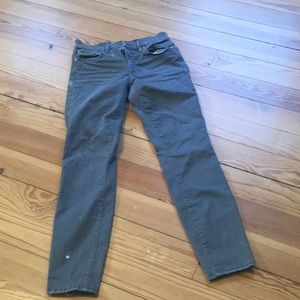 JCrew Toothpick, Gray - Size 26